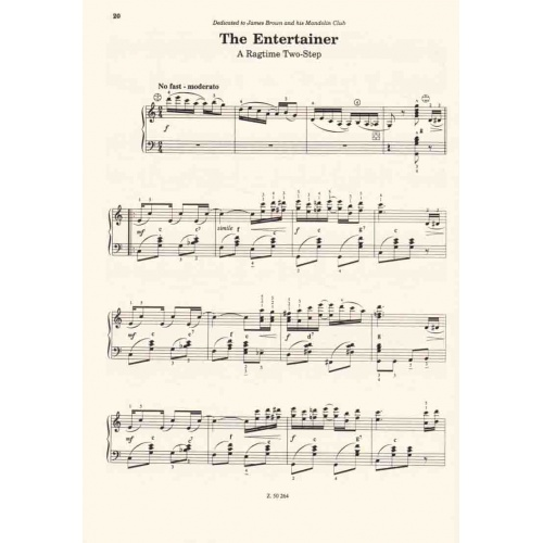 8 Ragtimes for Accordion (Scott Joplin)