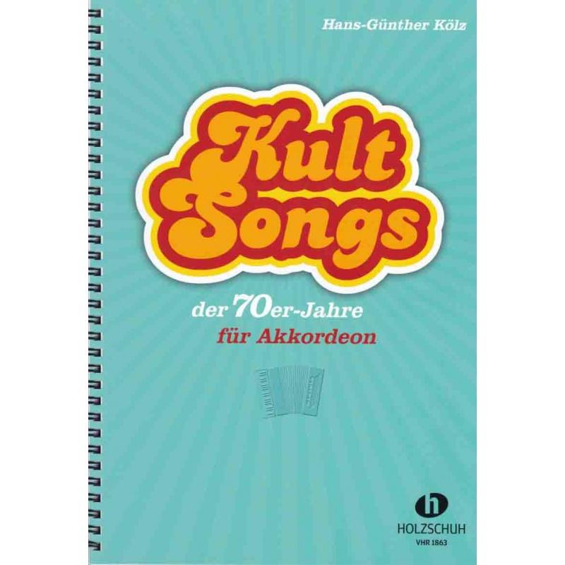 Kult songs der 70er-Jahre für akkordeon
