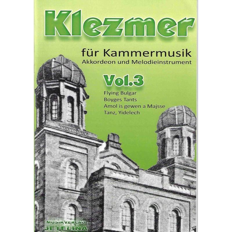 Klezmer-suite deel 3