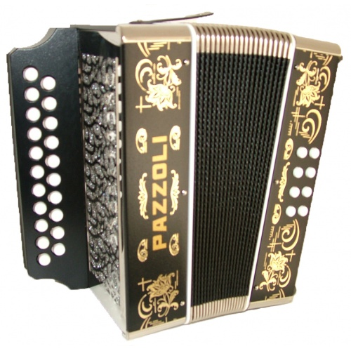 Diatonische Wiener accordeon
