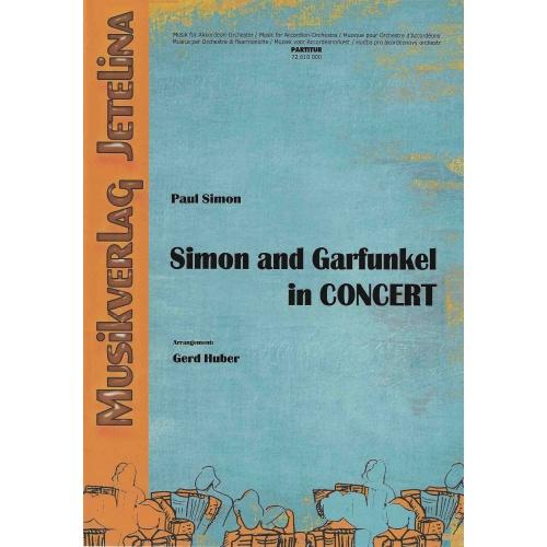 Simon and Garfunkel in concert (partituur)