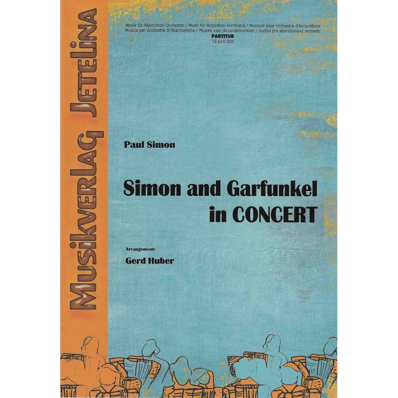 Simon and Garfunkel in concert (partituur)