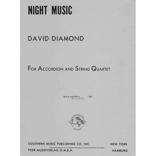 Night Music for Accordion and string quartet