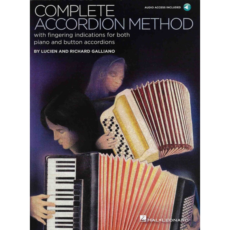 Complete Accordion method Galliano