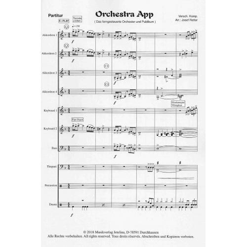 Orchestra App (partituur)
