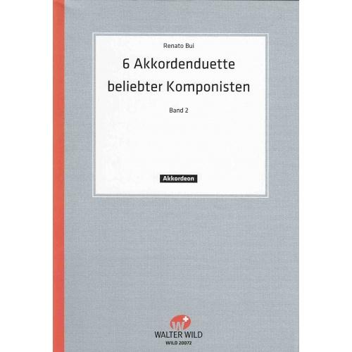 6 akkordeon-duette berühmter Komponisten deel 2