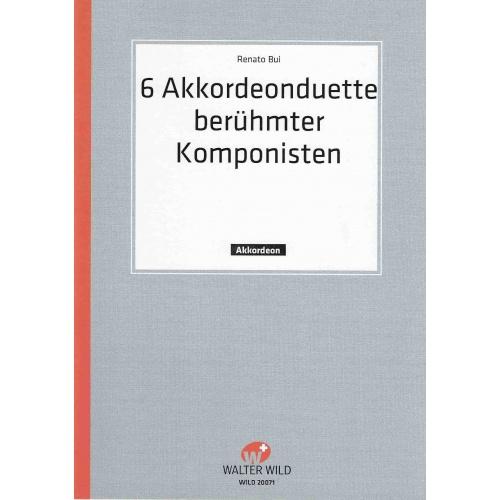6 akkordeon-duette berühmter Komponisten deel 1