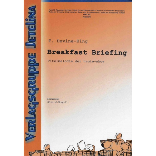 Breakfast Briefing (partituur)