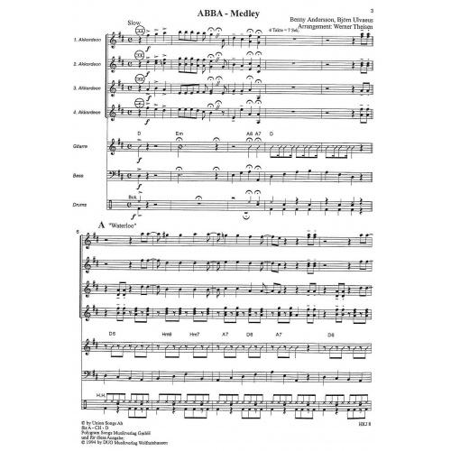 ABBA-Medley (partituur)