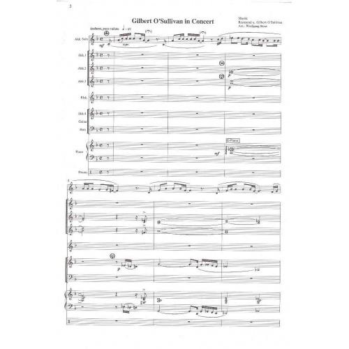 Gilbert O'Sullivan in Concert (partituur)