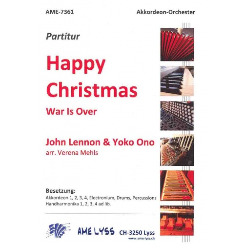 Happy Christmas (war is over) stemmenset