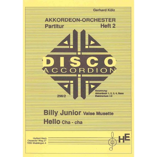 Disco-Accordion (partituur)