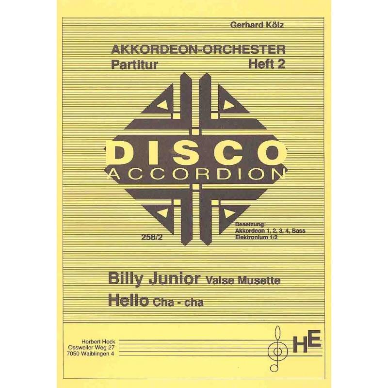 Disco-Accordion (partituur)