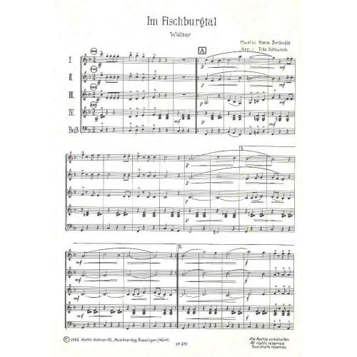 Im Fischburgtal (partituur)
