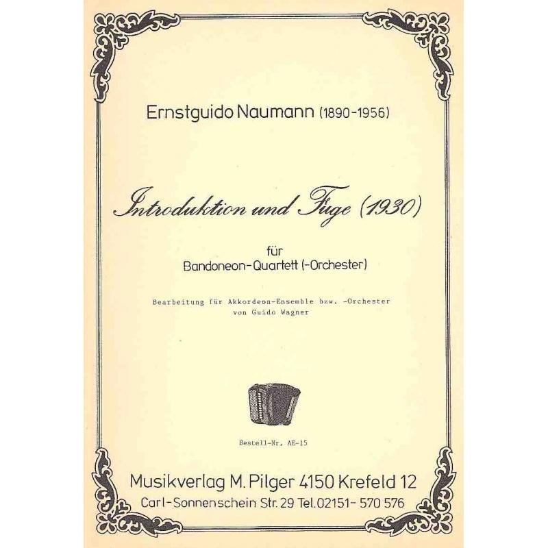 Introduction und fuge (partituur)
