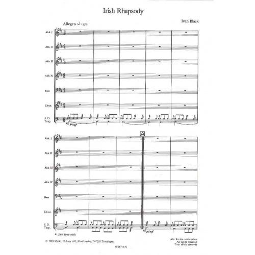 Irish Rhapsoly (partituur)