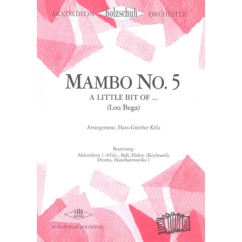 Mambo No 5 (partituur)