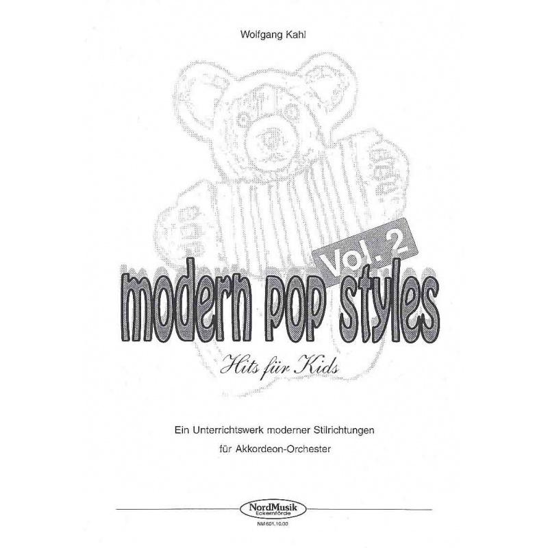 Modern Pop Styles deel 2 (partituur)