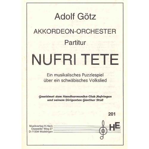 Nufri Tete (partituur)