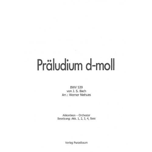 Präludium d-moll (partituur)