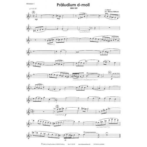 Präludium d-moll (stemmenset)