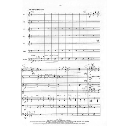 Beatles für akkordeonorchester folge 2