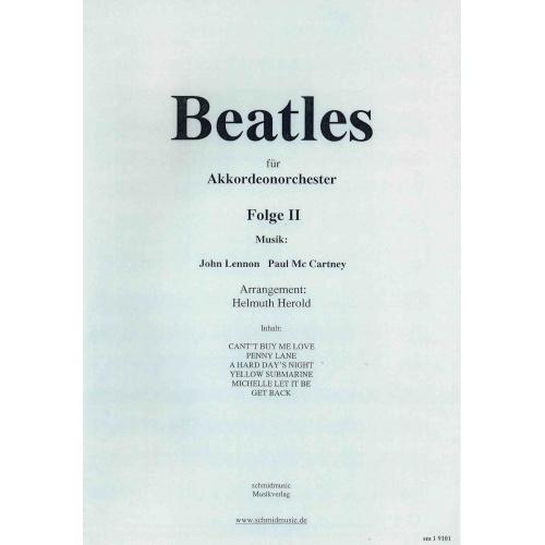Beatles für akkordeonorchester folge 2 (stemmenset)