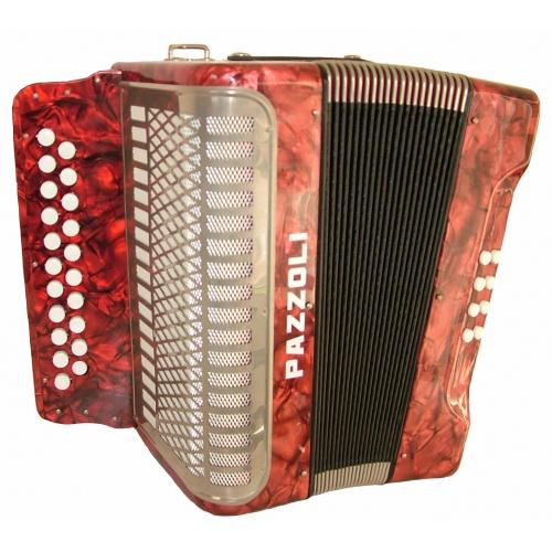 Diatonische accordeon 21/8/II. Duitse lijn