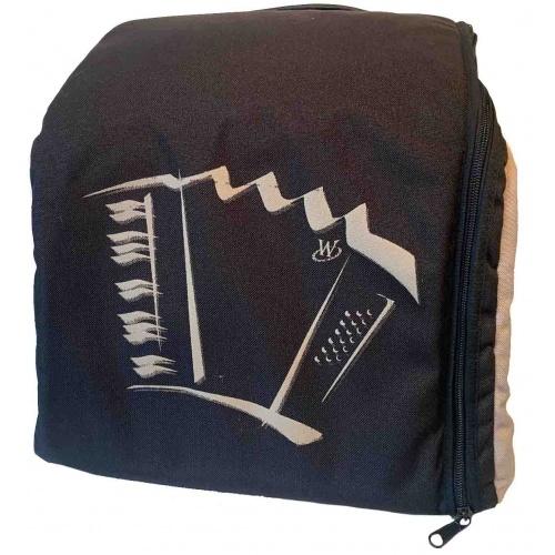 Draagtas voor 72 bas accordeon