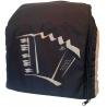 Draagtas voor club accordeon kleur zwart