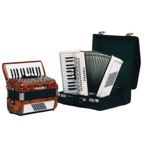 Pazzoli 48 bas accordeons 26/48/II/3 Duitse lijn