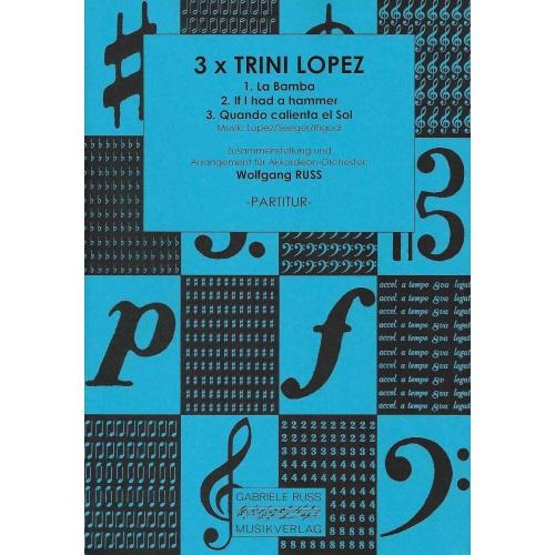 3 x Trini Lopez (partituur)