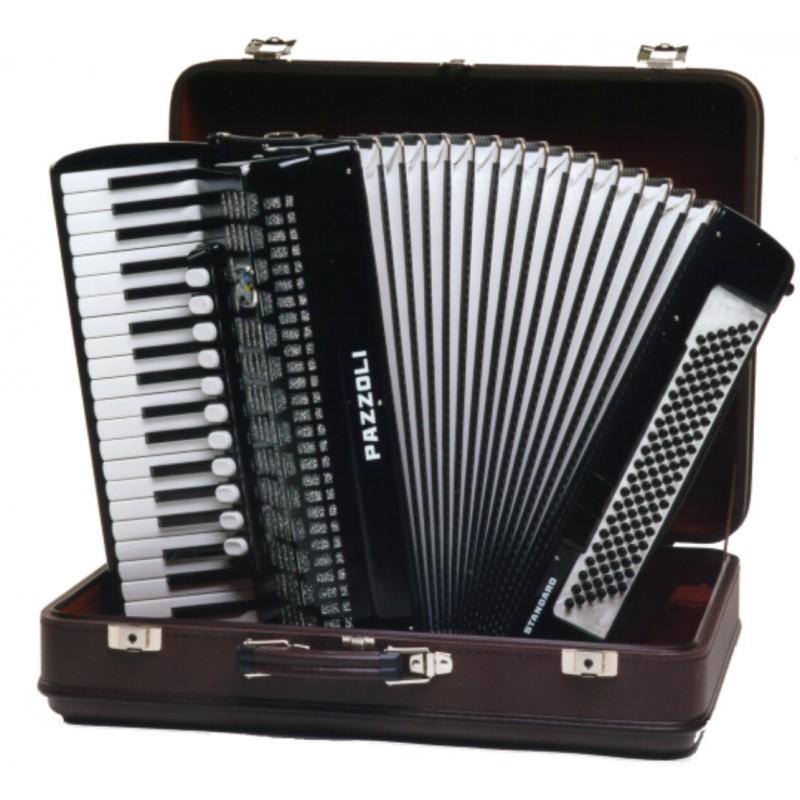 120 bas accordeon IV korig (Italiaanse stemtongen)