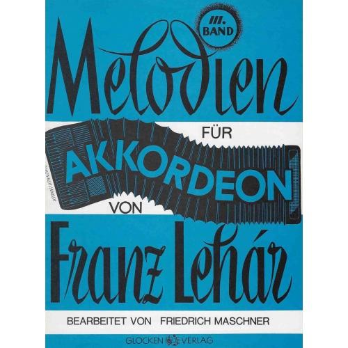 Melodien für Akkordeon von Franz Lehár deel 3