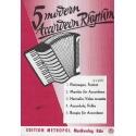 5 modern accordeon rhythm deel 1