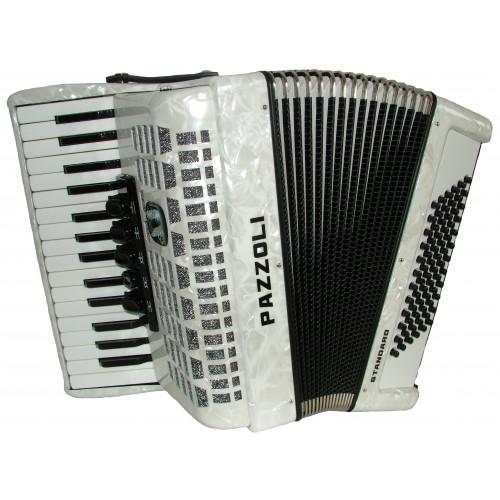 30/72/III/5 Pazzoli 72 bas accordeon (Lady size). Duitse lijn