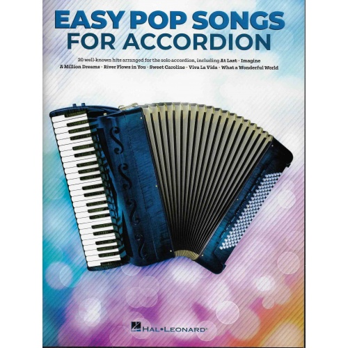 Easy Pop Songs for Accordion