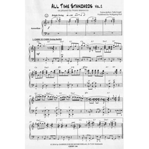 Akkordeon Jazztime All time standards deel 2