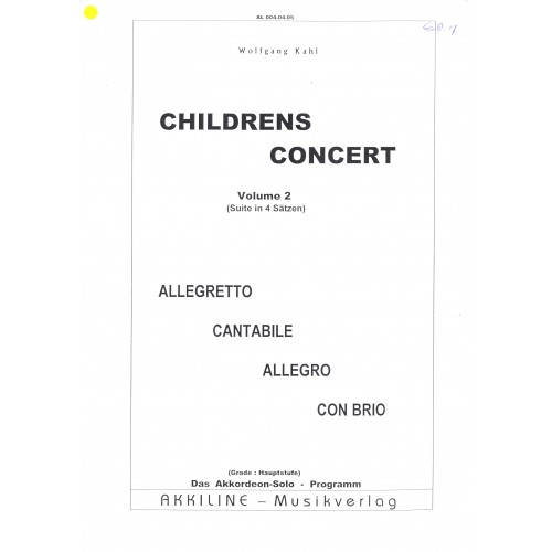 Childrens concert