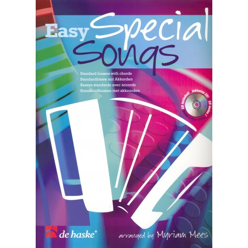 Easy special songs for accordion