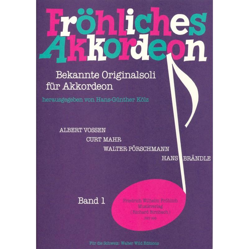 Fröhliches Akkordeon deel 1