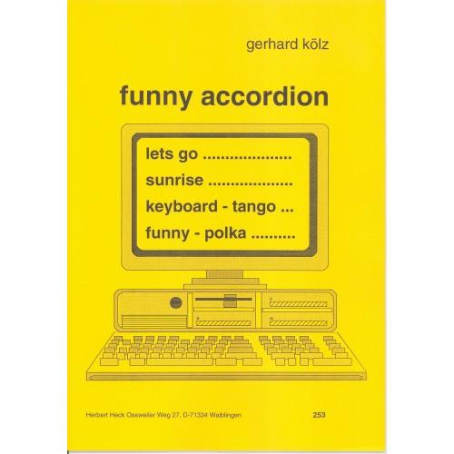 Funny accordion