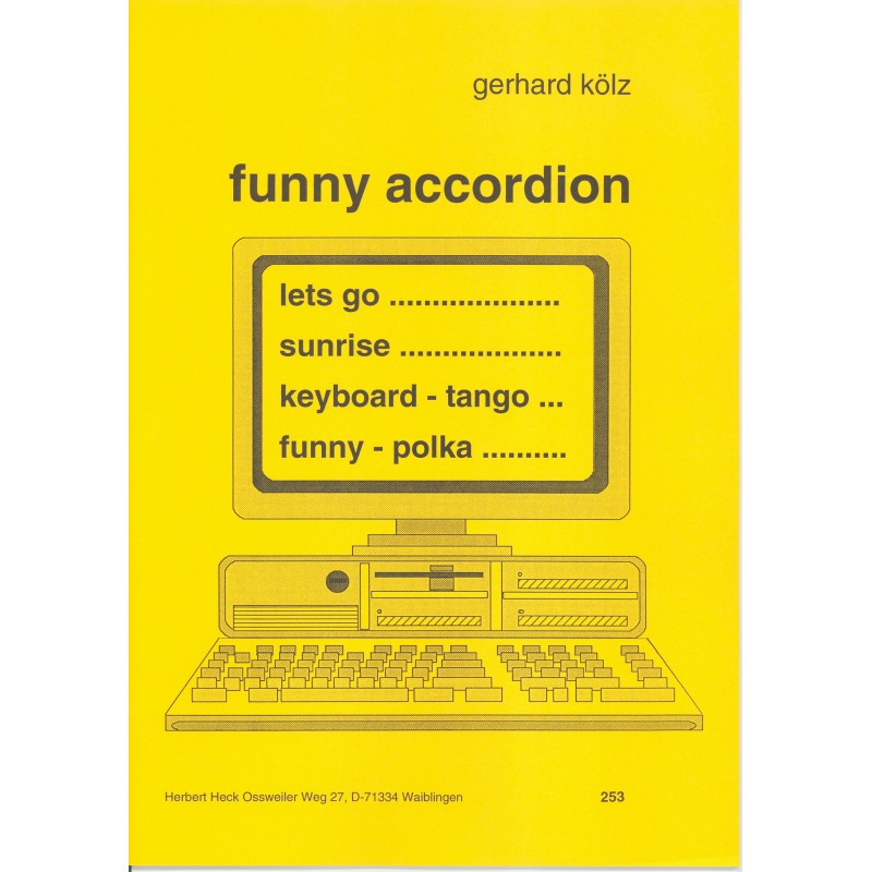 Funny accordion