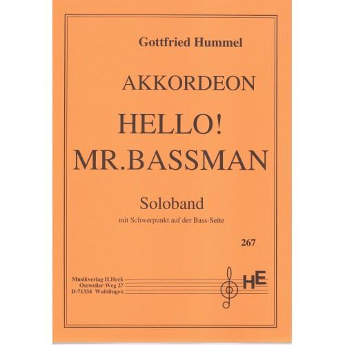 Hello mr. Bassmann