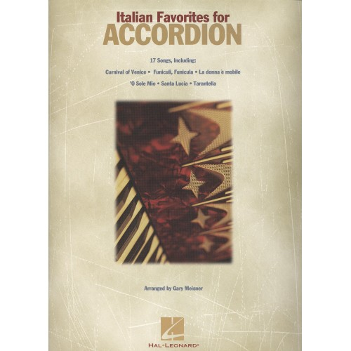 Italian Favorite for accordion