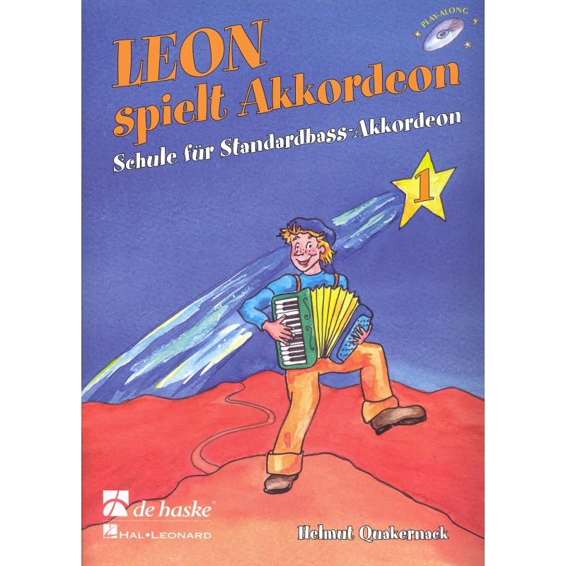 Leon spielt Akkordeon deel 1