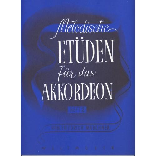 Melodische etüden für das akkordeon deel 2