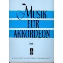 Musik für akkordeon deel 1