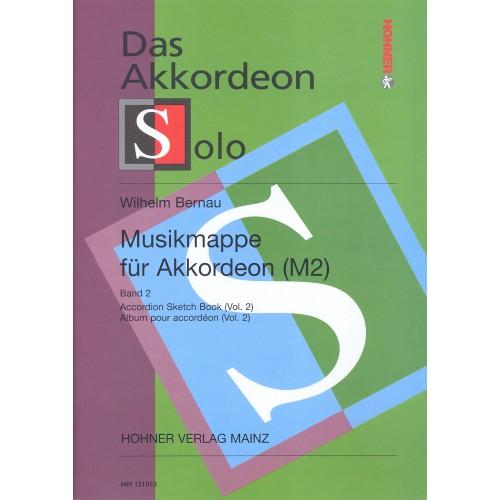 Musikmappe für akkordeon deel 2