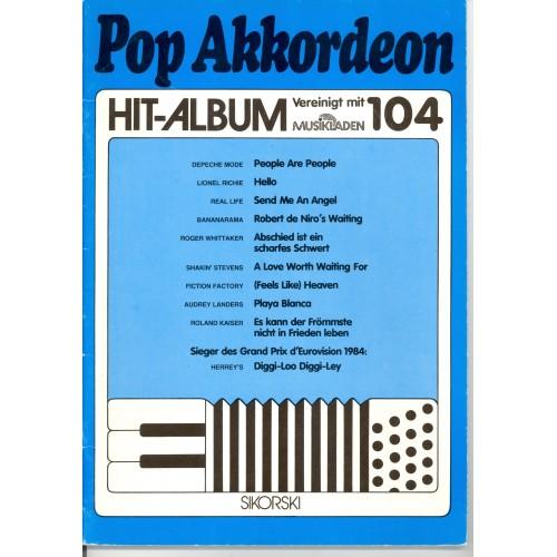 Pop akkordeon hit album deel 104